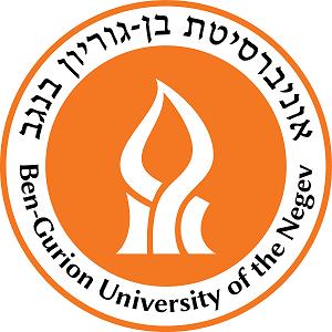 לוגו של אוניברסיטת בן גוריון בנגב
